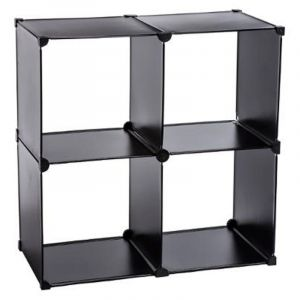 etagere cube noir comparer 73 offres. Black Bedroom Furniture Sets. Home Design Ideas