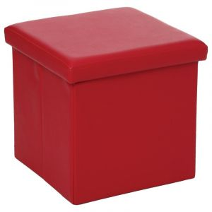 Pouf carre rouge comparer 27 offres for Pouf carre rouge