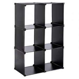 etagere 6 casiers comparer 52 offres. Black Bedroom Furniture Sets. Home Design Ideas
