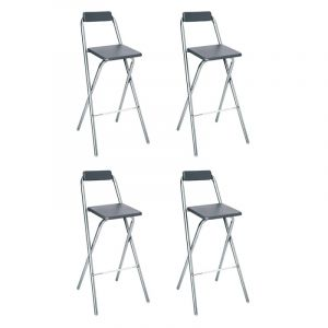 lot de 4 tabouret de bar comparer 140 offres. Black Bedroom Furniture Sets. Home Design Ideas