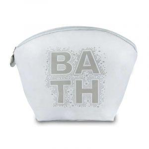 Trousse à Maquillage Bath Blanc  - Paris Prix
