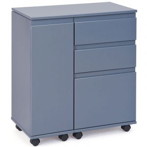 "Bureau Extensible """"Work"""" Gris - Paris Prix"""