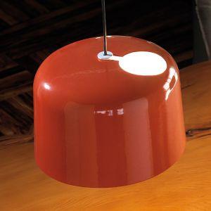 Suspension en céramique Add orange brillant