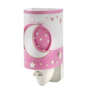 Veilleuse LED Stars pour bébé rose