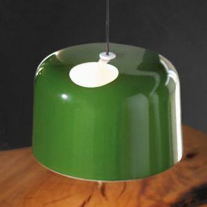 Suspension en céramique Add vert brillant