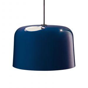Suspension en céramique Add bleu brillant