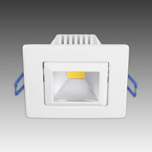 Spot encastré LED tendance Pound blanc