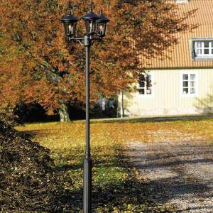 lampadaire exterieur 3 ampoules comparer 78 offres. Black Bedroom Furniture Sets. Home Design Ideas