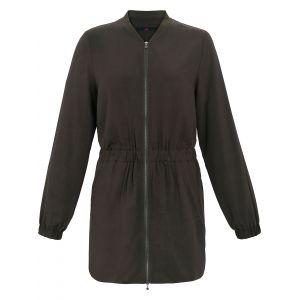 La veste longue de Emilia Lay vert taille 44