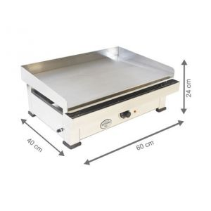 Plancha Electrique - 600x400x240 mm - AUTOGAS