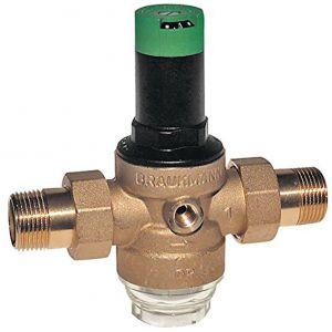 Régulateur de pression 1/2 , 1.5 à 6 bars - HONEYWELL ECC : D06F-1/2A