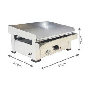 Plancha Electrique - 500x300x240 mm - AUTOGAS