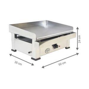 Plancha Electrique - 500x350x240 mm - AUTOGAS
