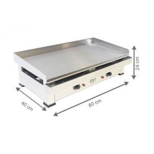 Plancha Electrique - 800x400x240 mm - AUTOGAS