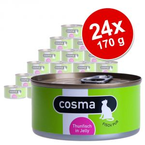 Lot Cosma Original 24 x 170 g pour chat - poulet