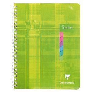 Cahier de texte - CLAIREFONTAINE - 144 pages - 17x22 cm - Séyès