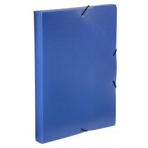 Boîte de classement - VIQUEL - A4 - Dos 30 mm - Bleu