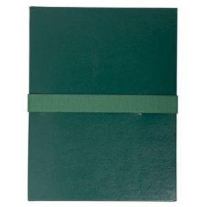 Chemise à sangle - EXACOMPTA - 24x32 cm - Vert foncé