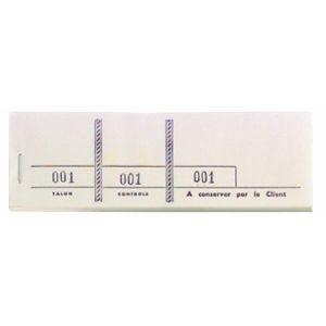 Carnets de tickets - EXACOMPTA - 50 blocs passe-partout - 96401E