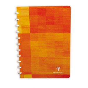 Cahier spirale - CLAIREFONTAINE - 17x22 cm - 100 pages - Petits carreaux