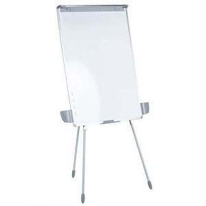 Chevalet de conférence Manutan 100x70 cm blanc,