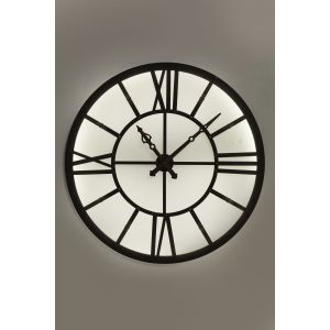 Horloge murale Factory LED Kare Design