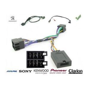 COMMANDE VOLANT Peugeot Bipper - Pour SONY complet avec interface specifique