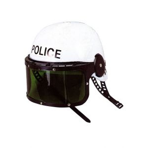 CASQUE POLICE AVEC VISIÈRE