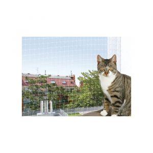 Filet de sécurité pour balcon transparent