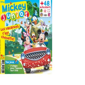 Abonnement Mickey Junior 1 an / 12 n°
