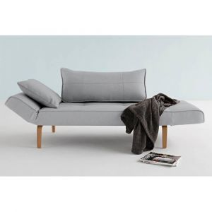 Canape design ZEAL BOW Soft_Pacific Pearl convertible lit 200*70 cm