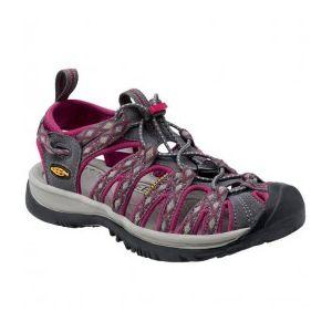 Keen - Women Whisper - Sandales de sport et de plein air taille 10,5, noir/gris/violet