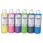 Coffret de 5 flacons de  250ml de peinture nacrée