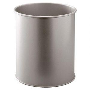 Corbeille à papier Durable corps en métal - dimensions : Ø 26 x H 31,5 cm