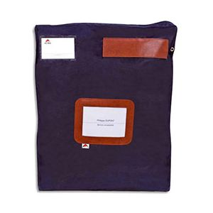 Pochette navette Alba - format 40x5x50cm - bleu