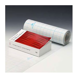 Couvre livre Filmolux cristal - film PVC souple - adhésif 1 face - 0,62 x 5 m
