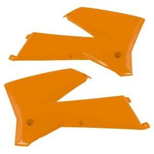 Ouie de radiateur Racetech orange KTM CVKTMAR0005