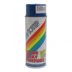 Bombe de peinture bleu gentiane brillant Motip 400ml