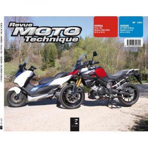 Revue Moto Technique 181 Honda Forza 125 15-16 / Suzuki V-Strom 1000 1