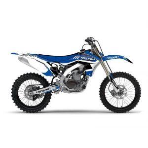 Kit déco Kutvek Chrono bleu Yamaha YZ125 - 250