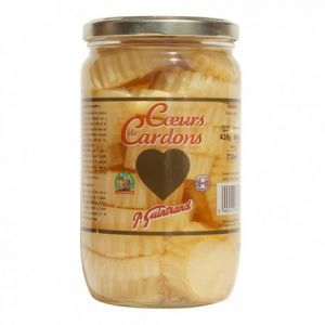 Coeurs de Cardons Nature, Bocal 720ml