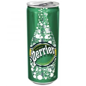 Canettes de Perrier Nature 33cl - Pack de 24