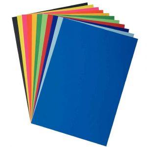 Papier affiche 80g 60x80 jaune or - Paquet de 25