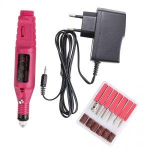 Lime À Ongles/Perceuse Électrique Rapide De Polissoir Art Drill Kit Set File Électrique Mèches Salon Portable Acrylique Machine - Neuf