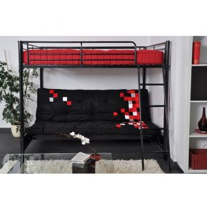 lit mezzanine banquette clic clac comparer 9 offres. Black Bedroom Furniture Sets. Home Design Ideas