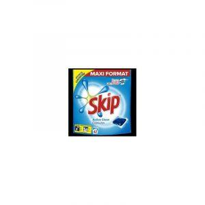 SKIP - Lessive - Active Clean Dosettes x42 - Neuf