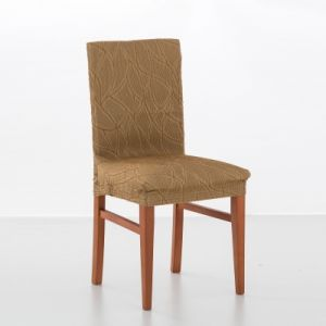 Housse chaise motif jacquard extensible Alice