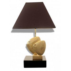 Lampe de table poisson