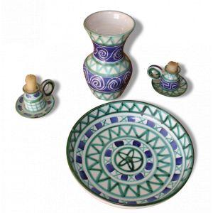 4 pièces en céramique de Robert PICAULT