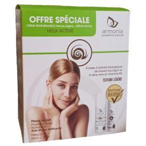 PACK ESCARGOT Crème Régénératrice Légère & Sérum Facial